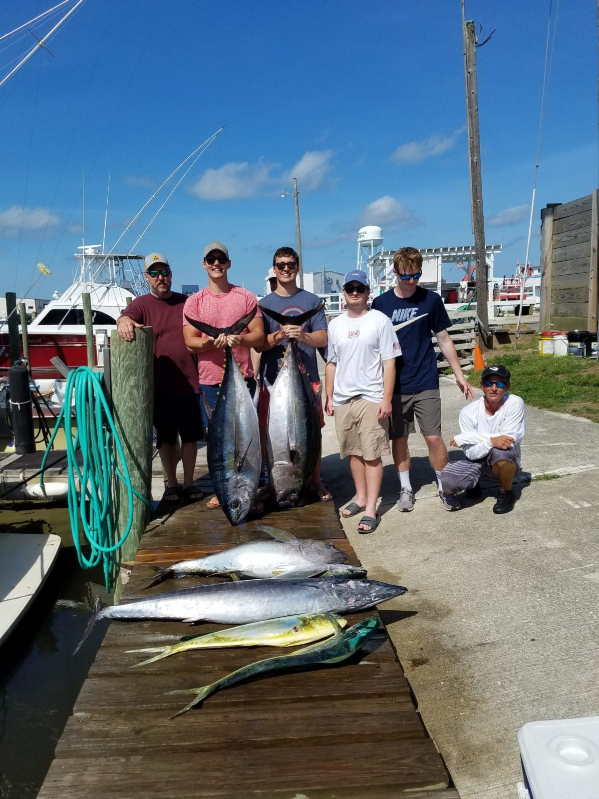 Outer Banks Offshore Tuna Fishing