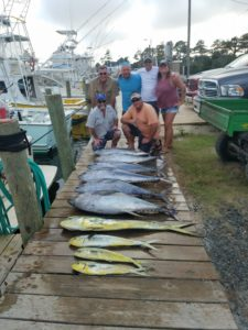 Outer banks offshore fishing