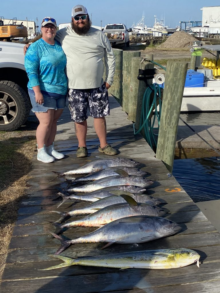 Great day tuna fishing here on the Outer Banks